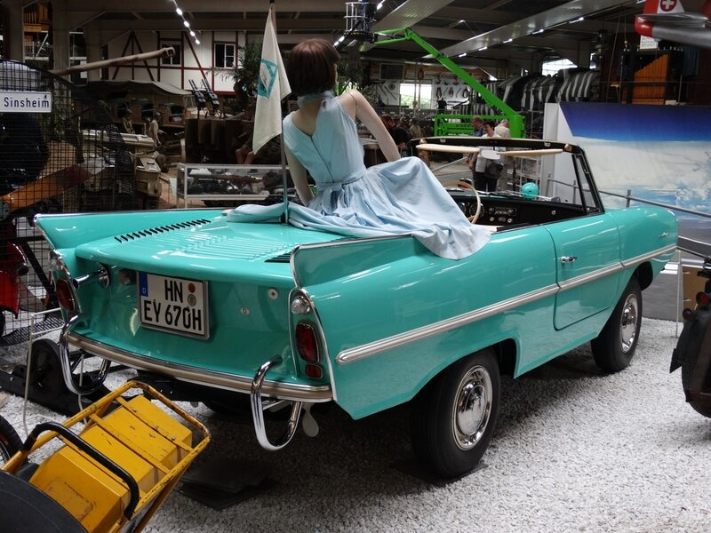 AMPHICAR Model 770 1967 Sinsheim (2)