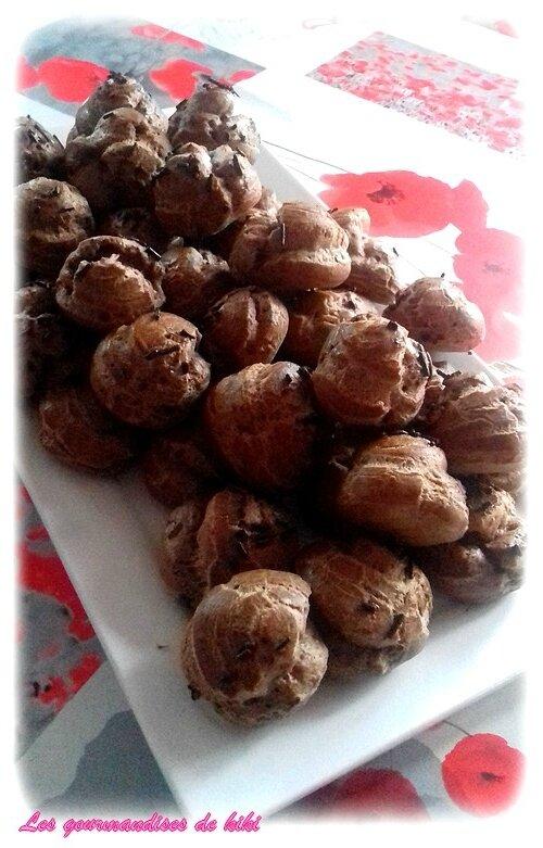 Chouquette au chocolat