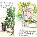 Mourèze : Puits et Fontaine