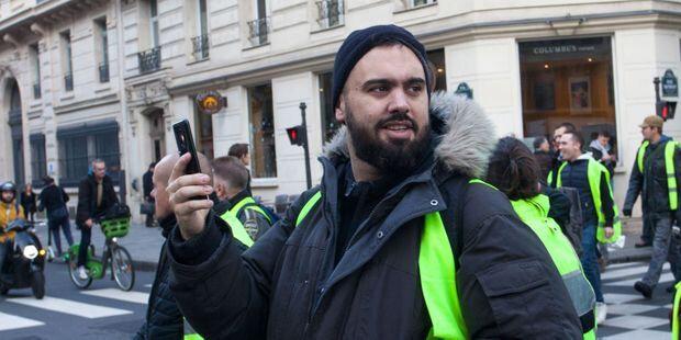 Gilets-jaunes-Eric-Drouet-interpelle-a-Paris-pour-manifestation-non-declaree