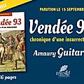 « vendée 93 », le nouveau livre d'amaury guitard