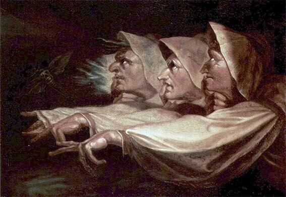 The Weird Sisters or The Three Witches