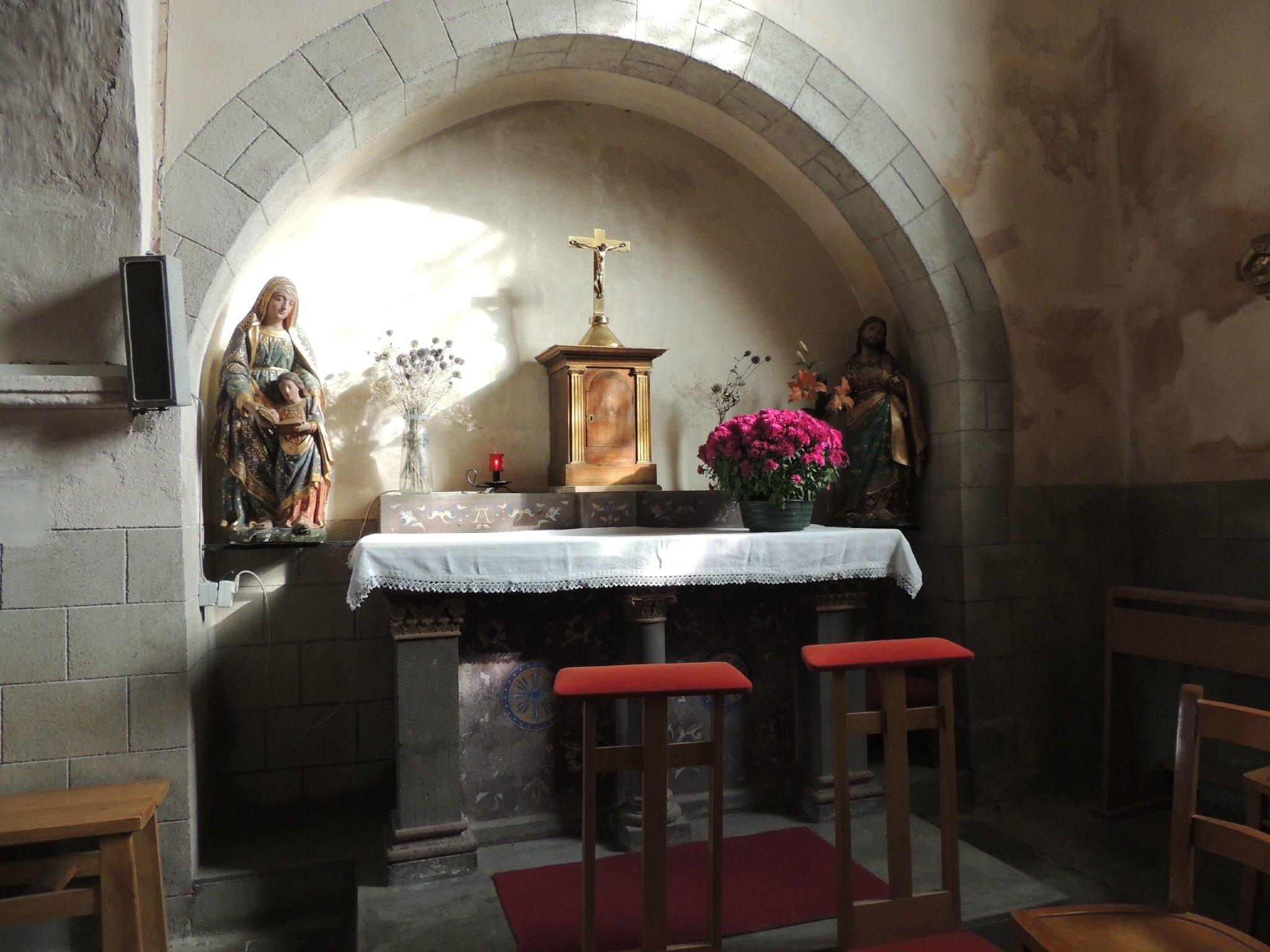 Eglise Saint-André, Coudes -63- (13)