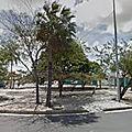 Rond-point à fortaleza (brésil)