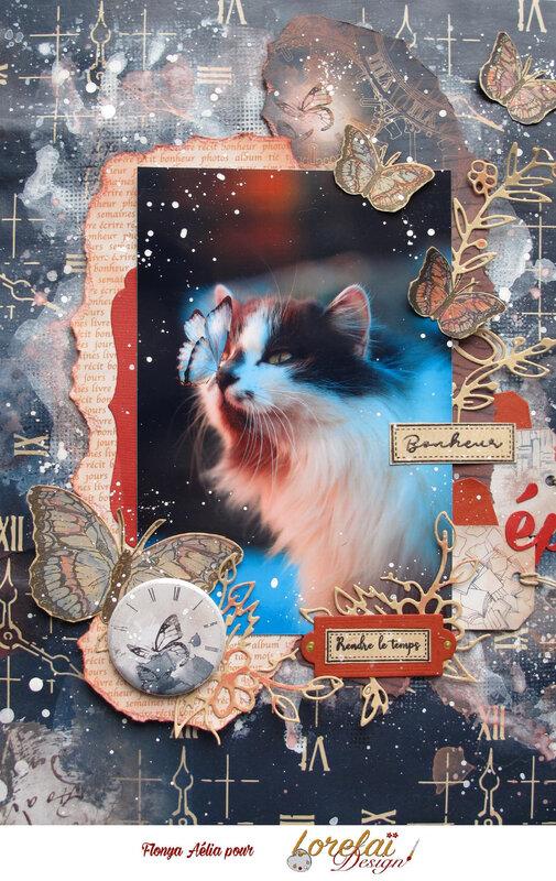 Lorelaï - Bonheur éphémère bis 18x12 portrait
