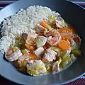 Waterzoï de poissons - recette au cookeo