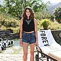 Ashley Greene en Forever 21