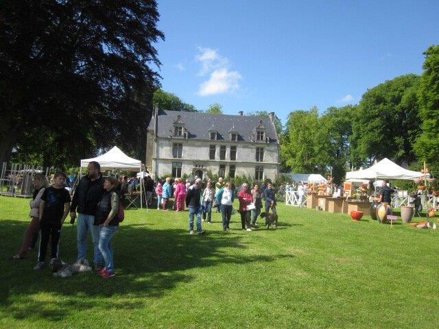 2015 - mai - 16 et 17 - Salon Arts et Jardins de Saint-Romain-de-Colbosc au Château de Gromesnil (22)