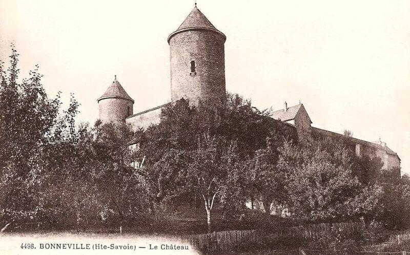 Bonneville, château des Tours (1)