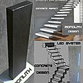 Escalier suspendu ,monolith fabriquant se marches suspendues,escalier suspendu