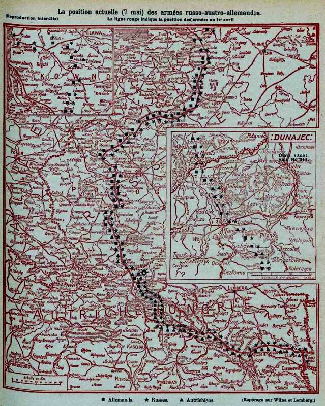 Front russe 7 mai 1915