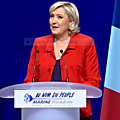 Meeting de marine le pen à paris le 17/04/2017
