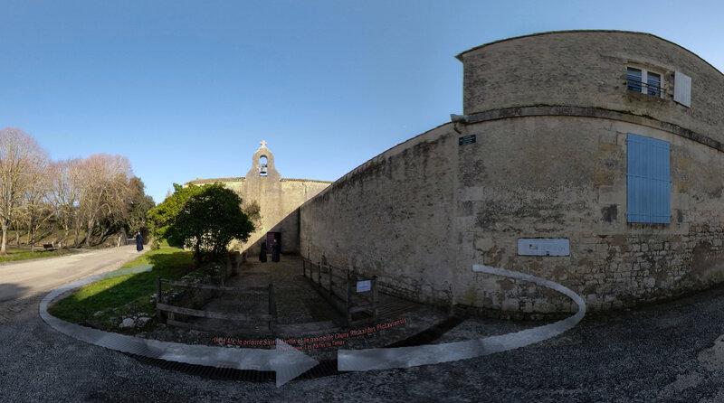 Ile d'Aix, le prieuré Saint-Martin et le moine de Cluny Richardus Pictaviensis