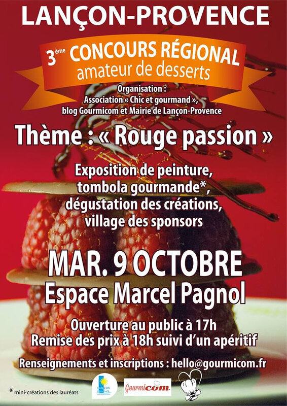 3eme concours patisserie- oct 2018
