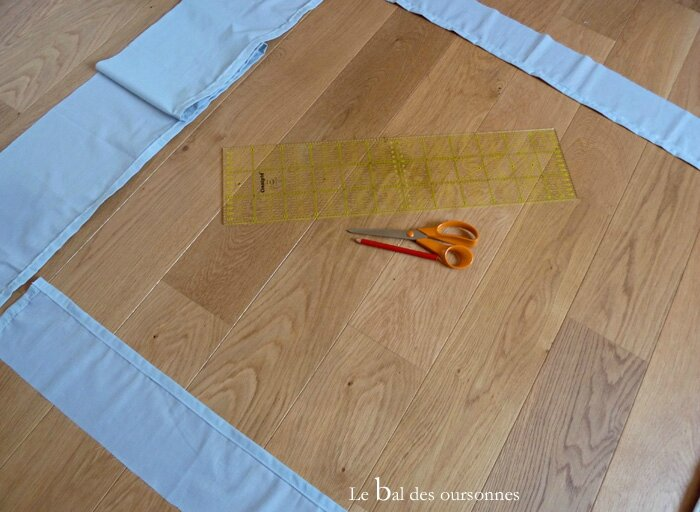 112 Blog Tête de lit DIY Tuto Hand Home Made Drap housse