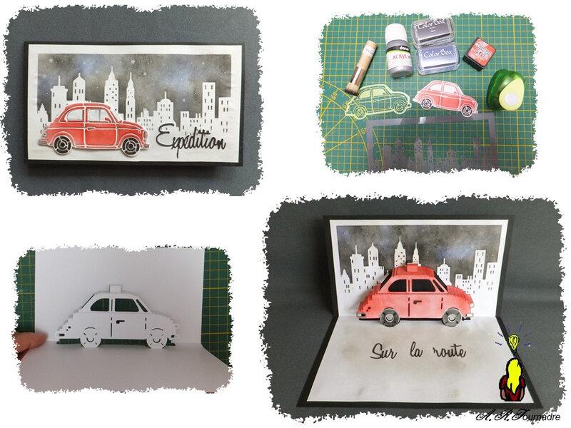 ART 2020 04 voiture kirigami 0