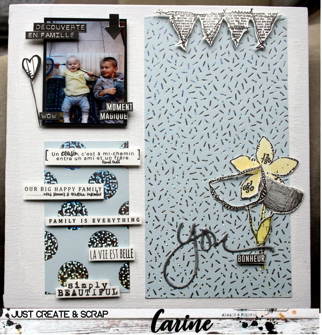 DT Just Create & Scrap #332