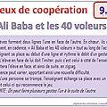 Jeux de coopération (9 à 12)
