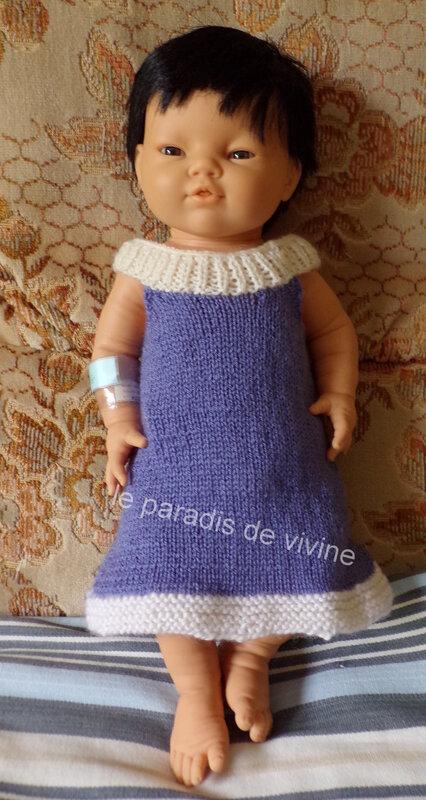 robe togo d'été bébé 32 sem
