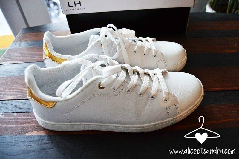 chaussures-basket-blanche-basique-profil-la-halle-cadeau-blogueuses-alice-sandra