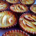 Tartelettes aux pommes à l'alsacienne