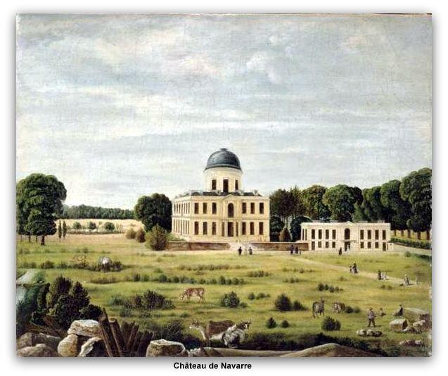 château de Navarre Evreux z