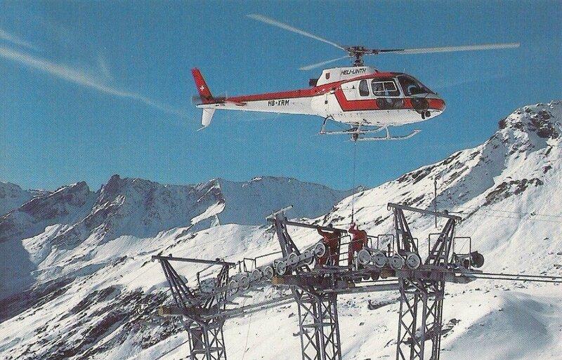 CPM Hélicoptère Ecureuil AS 350 Suisse