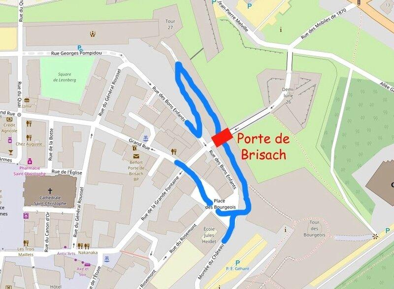 Plan du secteur Tour 27 Château R