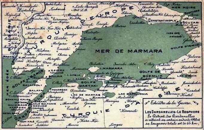 Carte turquie 1915