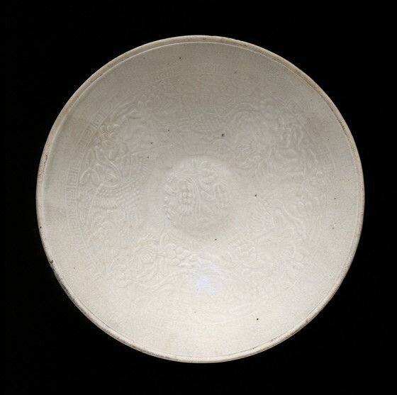 Bowl (Wan) with Geese and Plants; China, Southern Song dynasty, 1127-1279