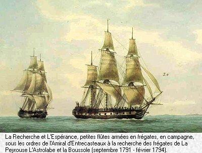 Le naufrage de Jean-François de Galaup, comte de Lapérouse