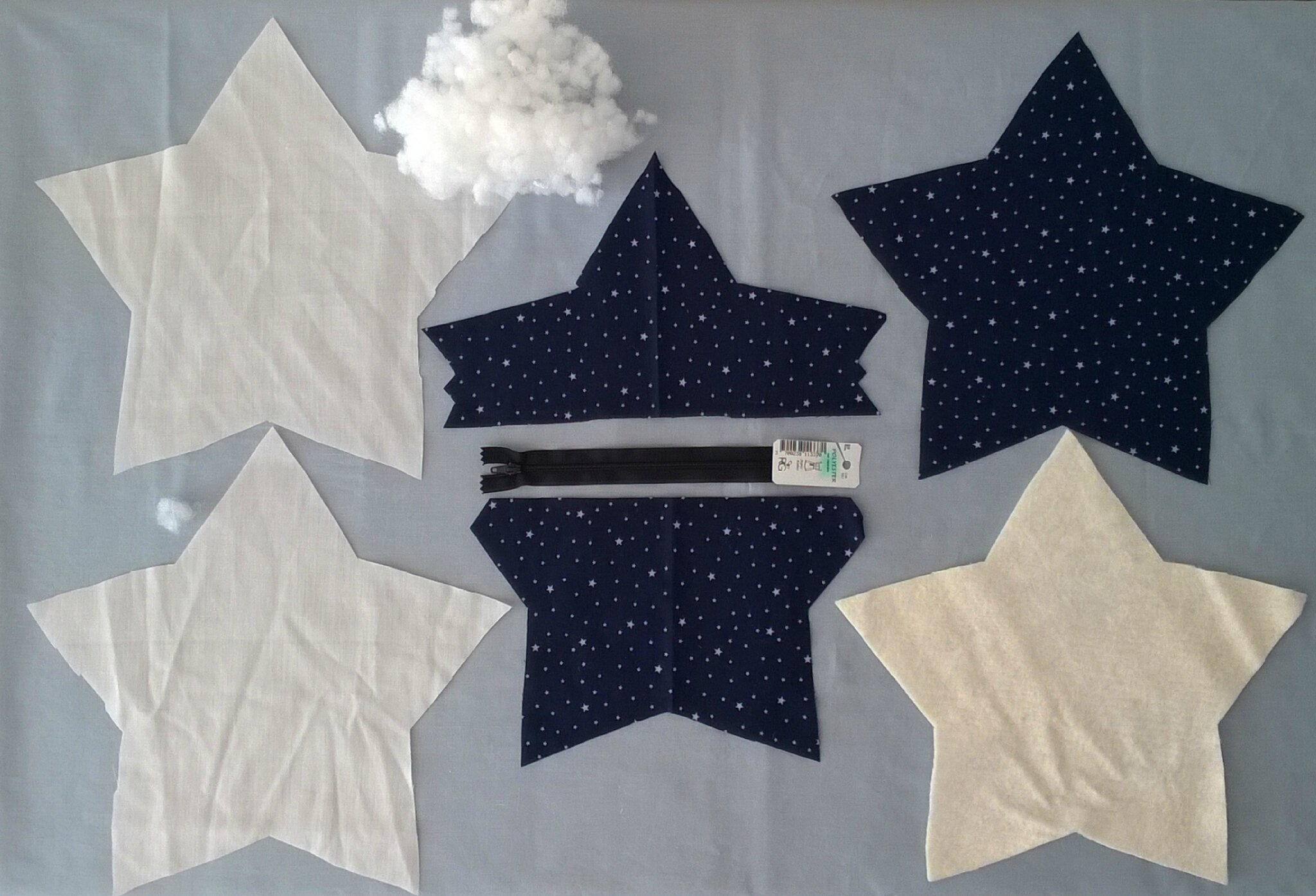 Tuto Du Nuage étoile Marraine La Fait