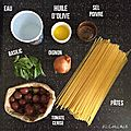 One pot pasta tomate basilic