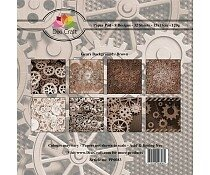 dixi-craft-6x6-inch-paper-pack-gears-background-br - Copie