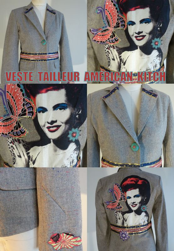 veste tailleur american kitch