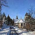 IMG_0149 La chapelle de la Hutte sous la neige