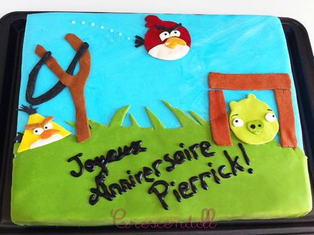 Gateau Pierrick Angy Birds BLOG