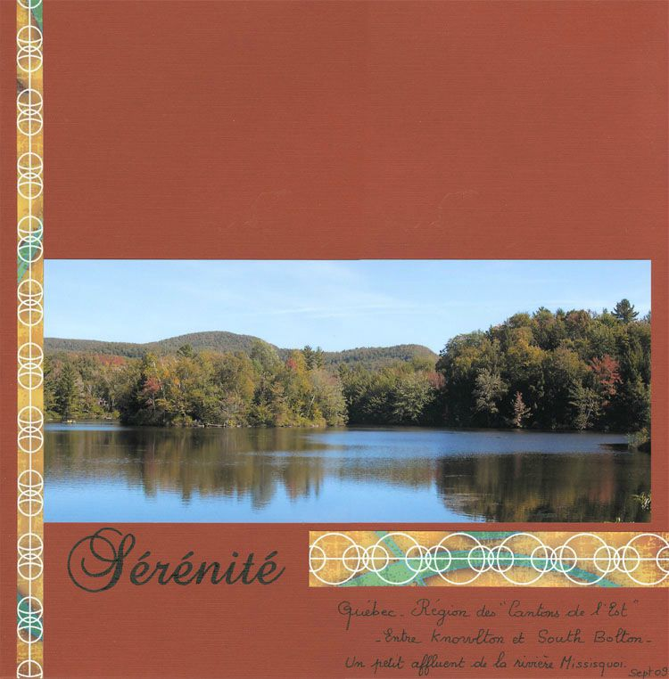 Sérénité-Knowlton-Estrie