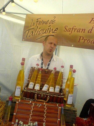 la liqueur de safran... quelle merveille!!!