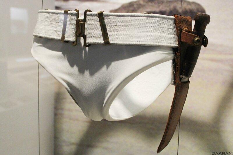 Honey Ryder's (Ursulla Andress) white bikini. «Dr No» 1962. Photo: Olivier Daaram Jollant © 2016