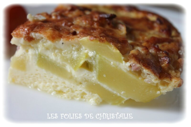 Flan courgettes 2