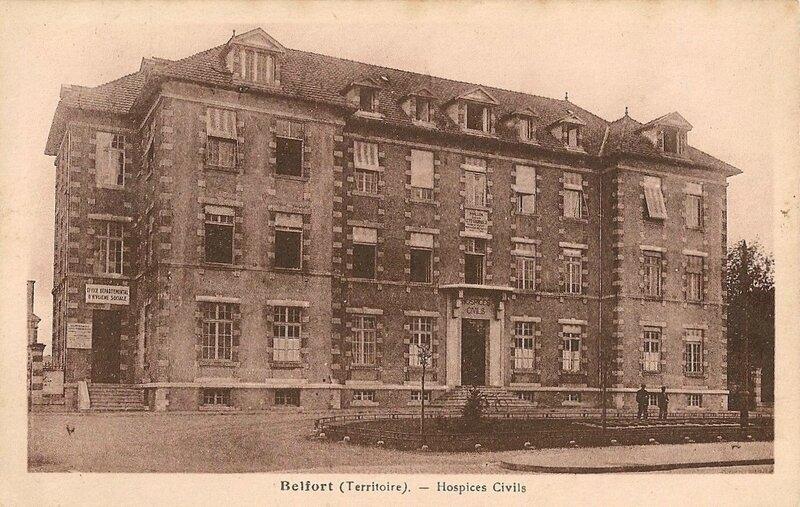 CPA Belfort Hôpital Pavillon J