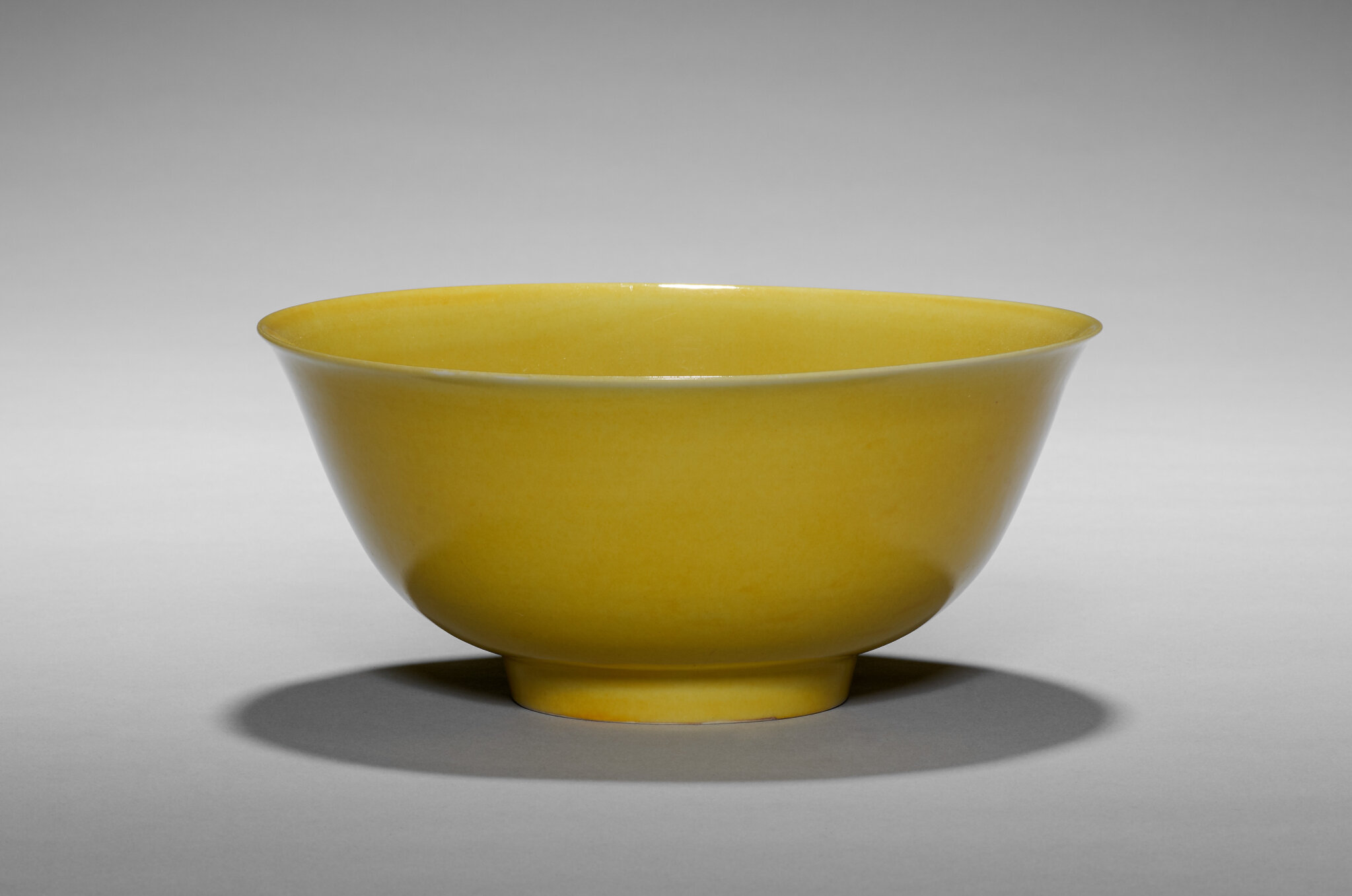 Yellow Glazed Bowl, China, Ming dynasty (1368-1644), Zhengde mark and reign (1505-21). Porcelain, 18.1 cm (7 1/8 in.), Nancy F. and Joseph P. Keithley Collection Gift 2020.180. ------WebKitFormBoundaryB6iifQHPJvHt8f3R Content-Disposition: form-data; na