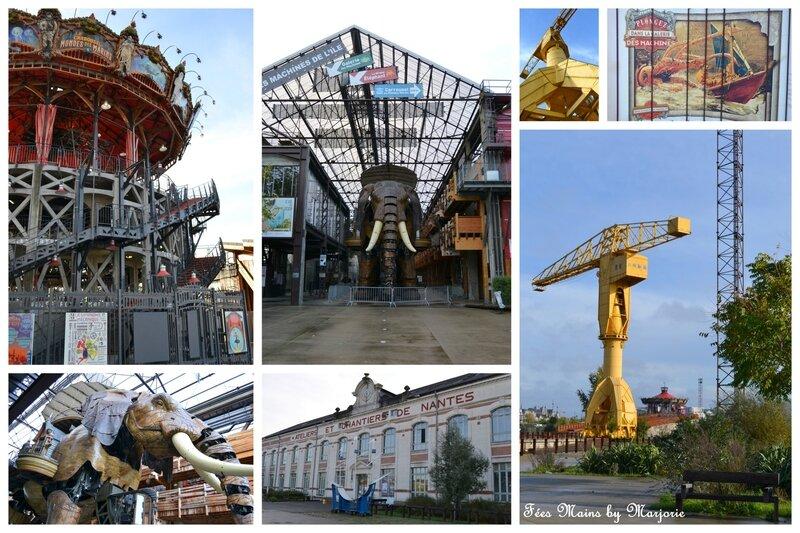 Nantes Les Machines de l'Ile et le Carrousel des mondes marins