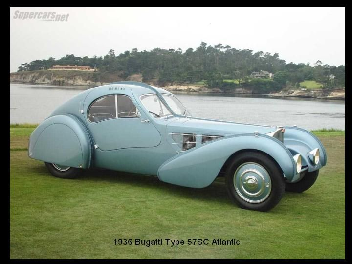 1936 - Bugatti Type 57SC Atlantic