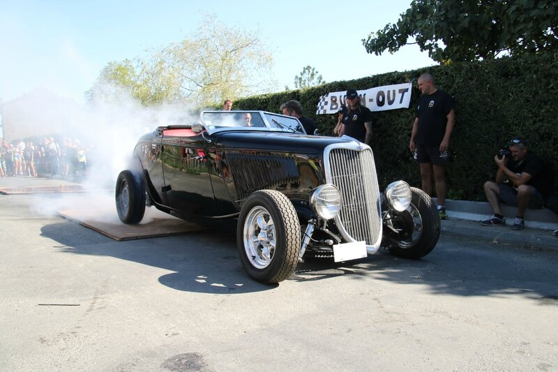Hot rod Ford 1934