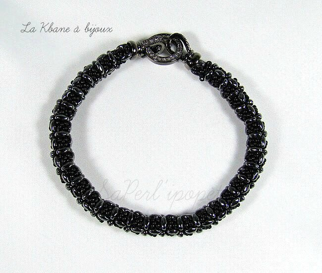 lisa bracelet noir hématite1
