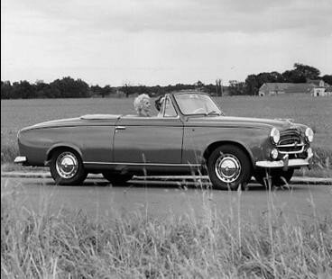 Peugeot 403 Cabriolet - 1957-61