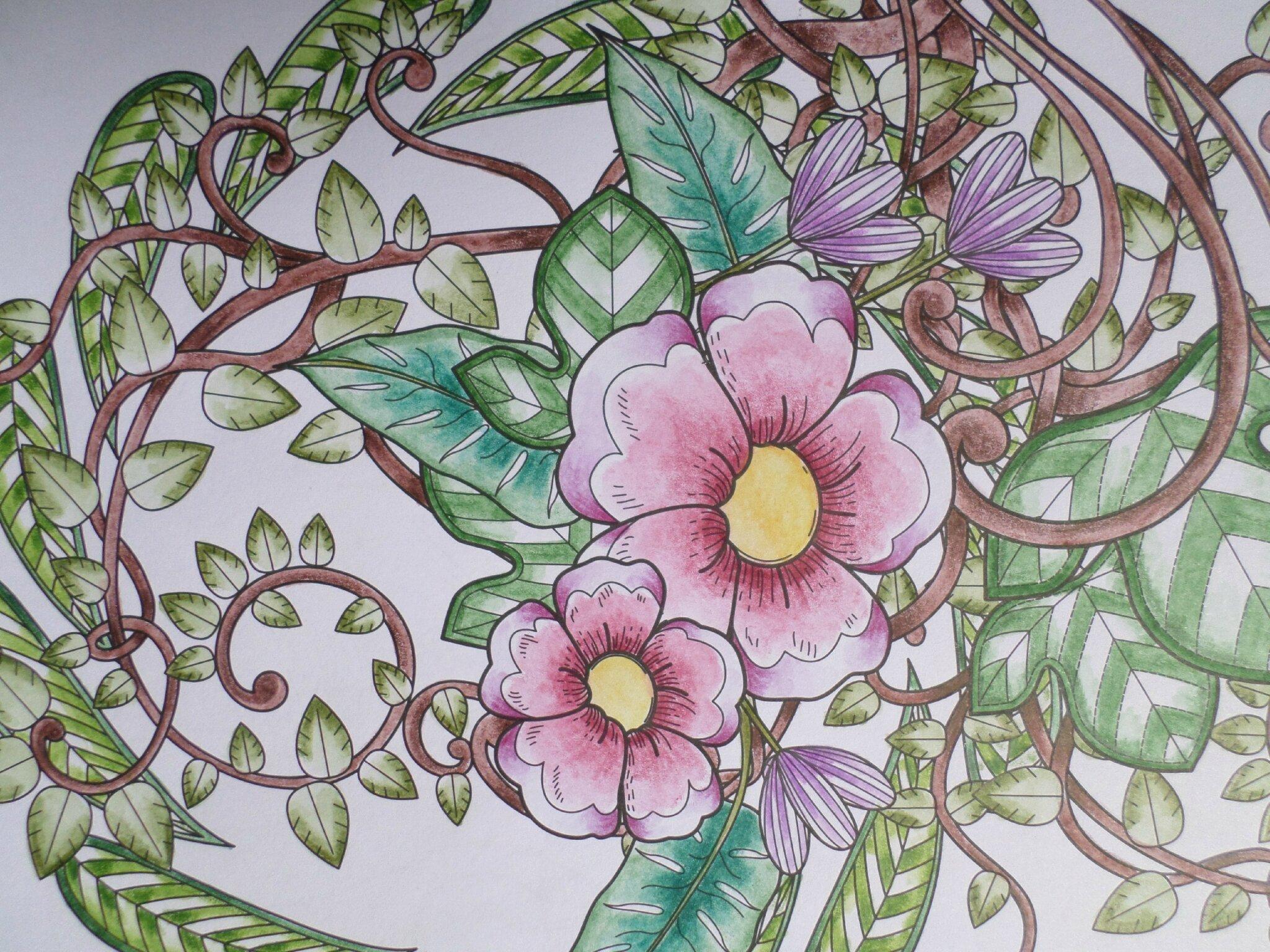 Coloriage Art Page 2 Steffy Elsass Crea