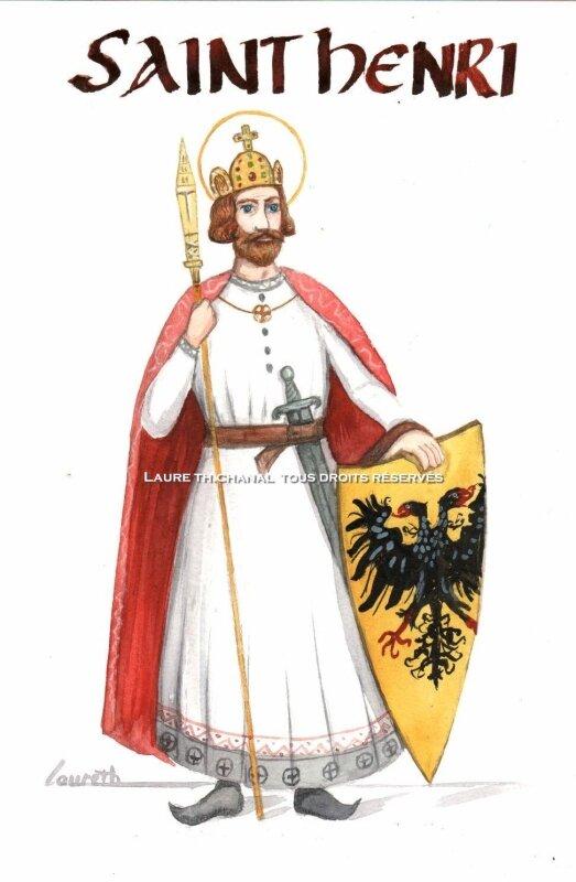 saint Henri II, empereur romain germanique